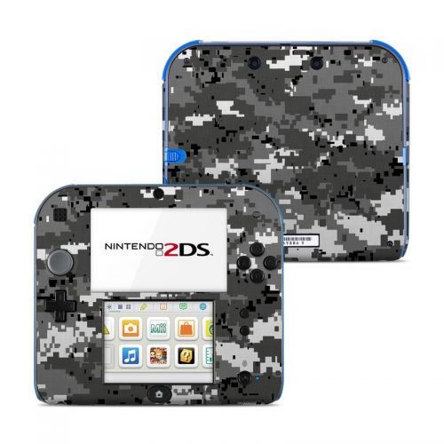 Digital Urban Camo Nintendo 2DS Skin