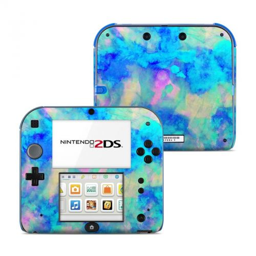 Electrify Ice Blue Nintendo 2DS Skin