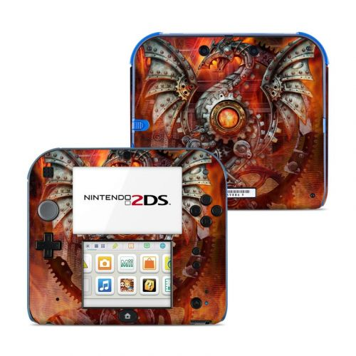 Furnace Dragon Nintendo 2DS Skin