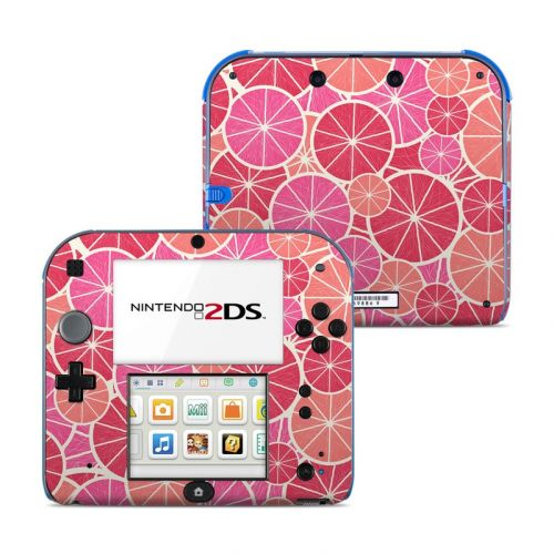 Grapefruit Nintendo 2DS Skin