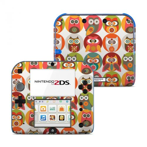 Owls Family Nintendo 2DS Skin