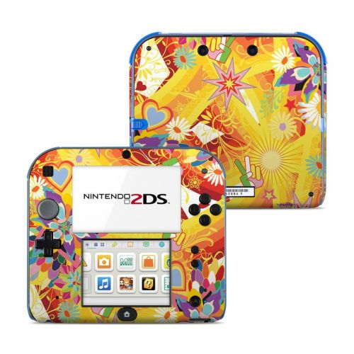 Wall Flower Nintendo 2DS Skin