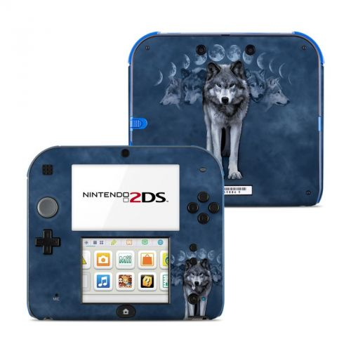 Wolf Cycle Nintendo 2DS Skin