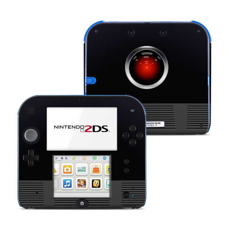 Nintendo 2DS Skin design of Screenshot, Technology, Circle, Space with black, gray, red, blue colors