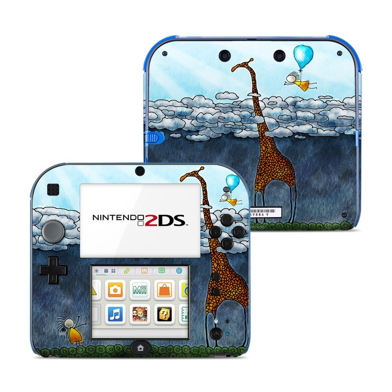 Above The Clouds Nintendo 2DS Skin