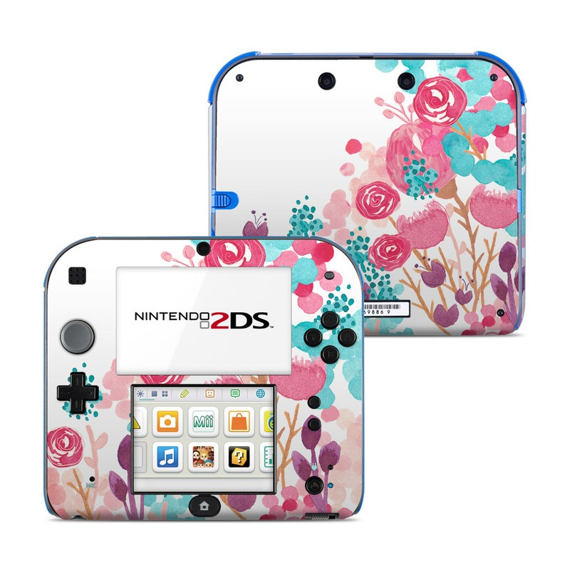 Blush Blossoms Nintendo 2DS Skin
