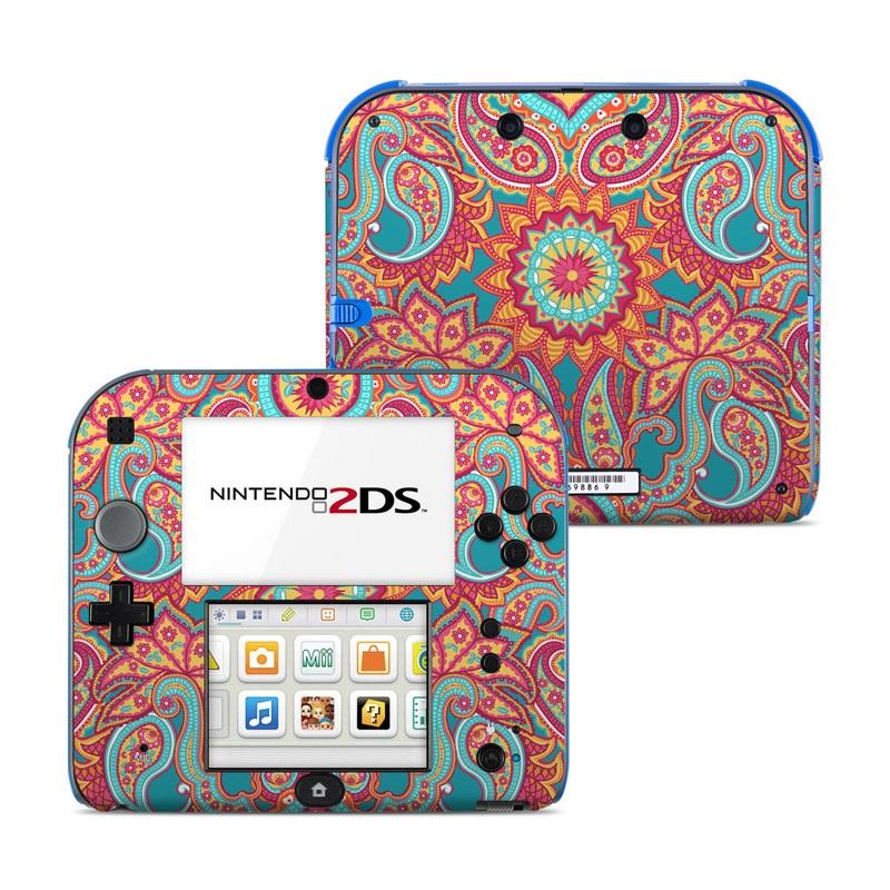 Carnival Paisley Nintendo 2DS Skin