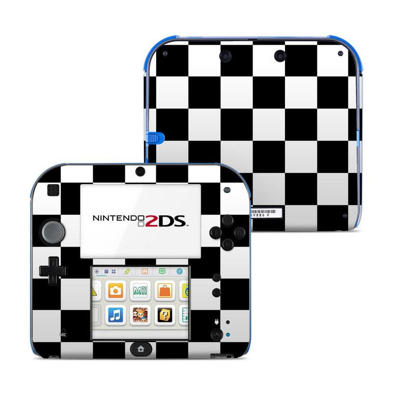Checkers Nintendo 2DS Skin