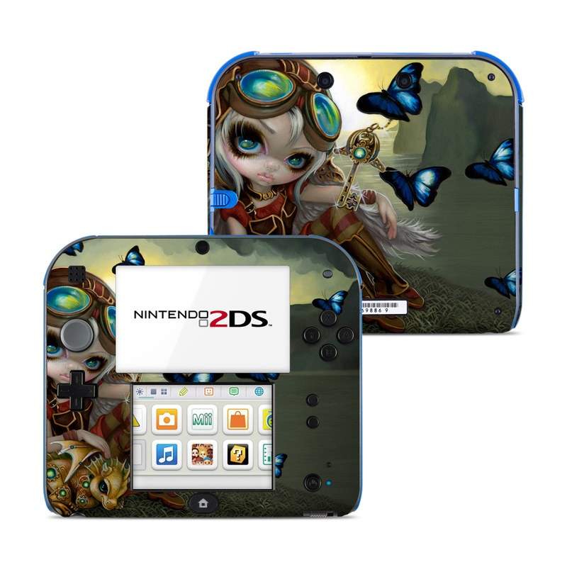 Clockwork Dragonling Nintendo 2DS Skin