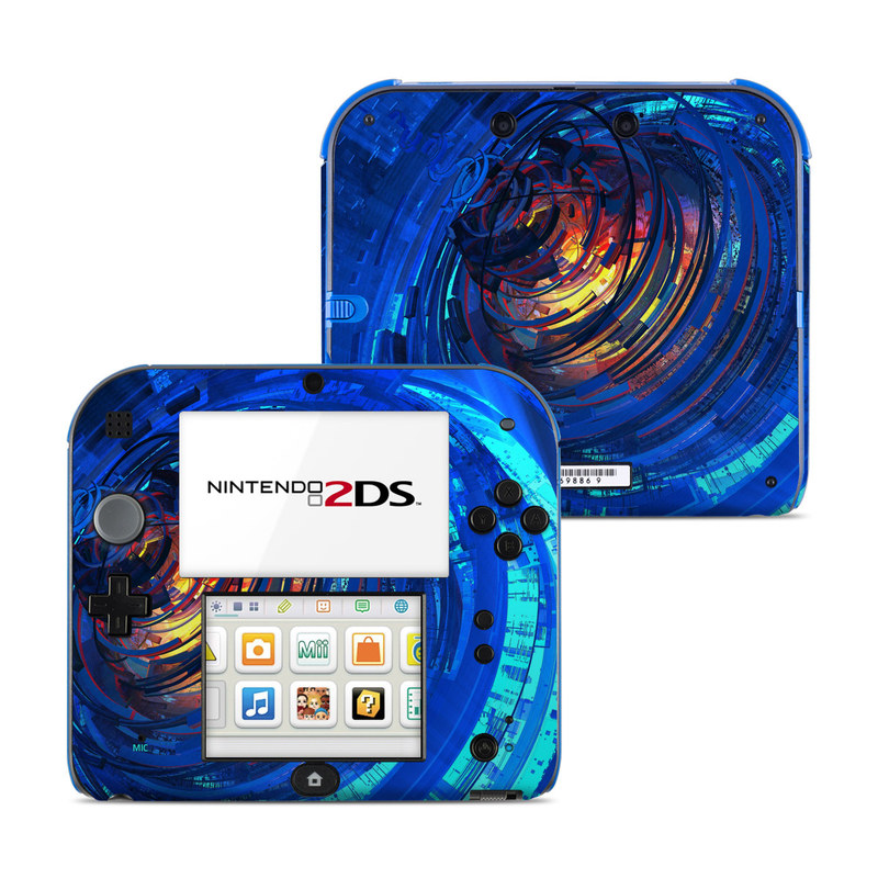 Clockwork Nintendo 2DS Skin
