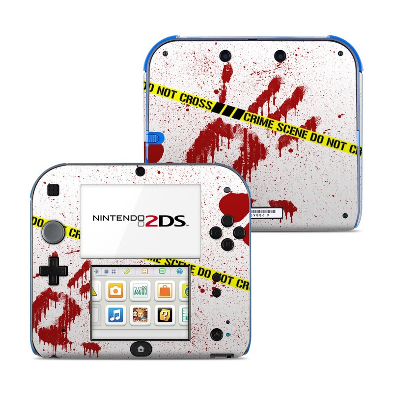 Crime Scene Revisited Nintendo 2DS Skin