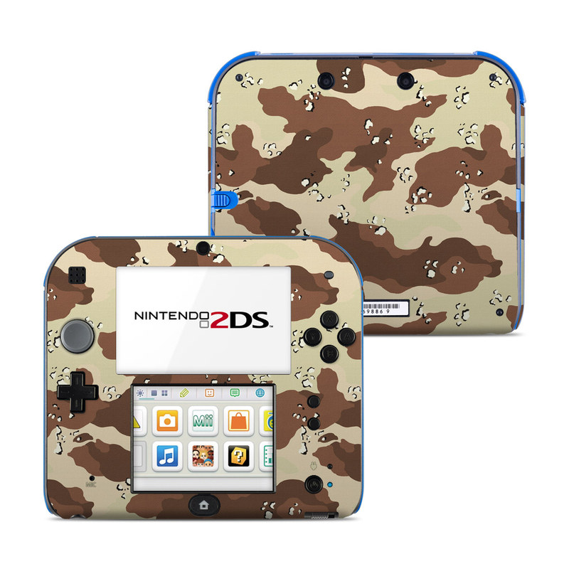 Desert Camo Nintendo 2DS Skin