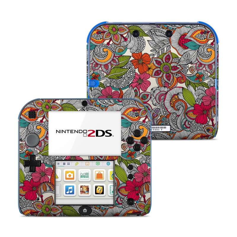 Doodles Color Nintendo 2DS Skin