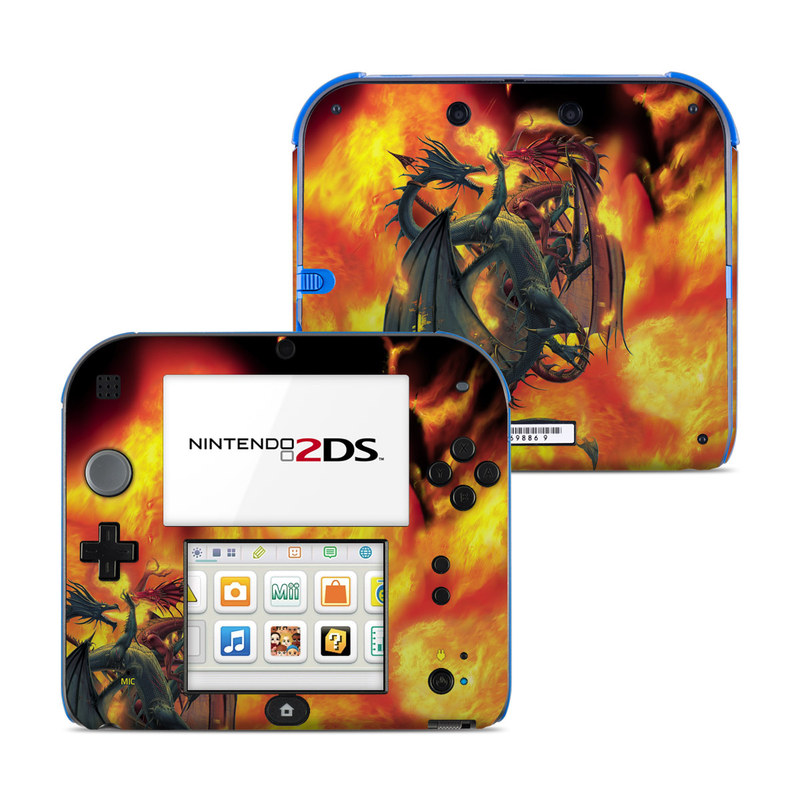 Dragon Wars Nintendo 2DS Skin