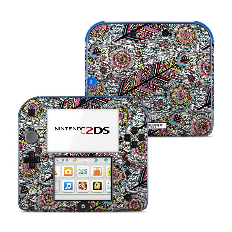 Dream Feather Nintendo 2DS Skin