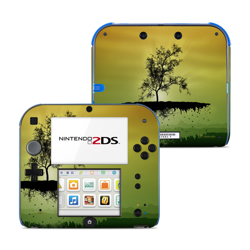 Flying Tree Amber Nintendo 2DS Skin