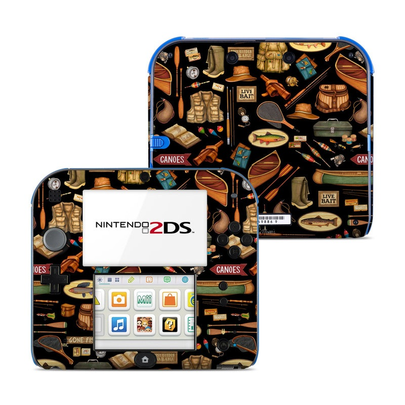 Gone Fishing Nintendo 2DS Skin