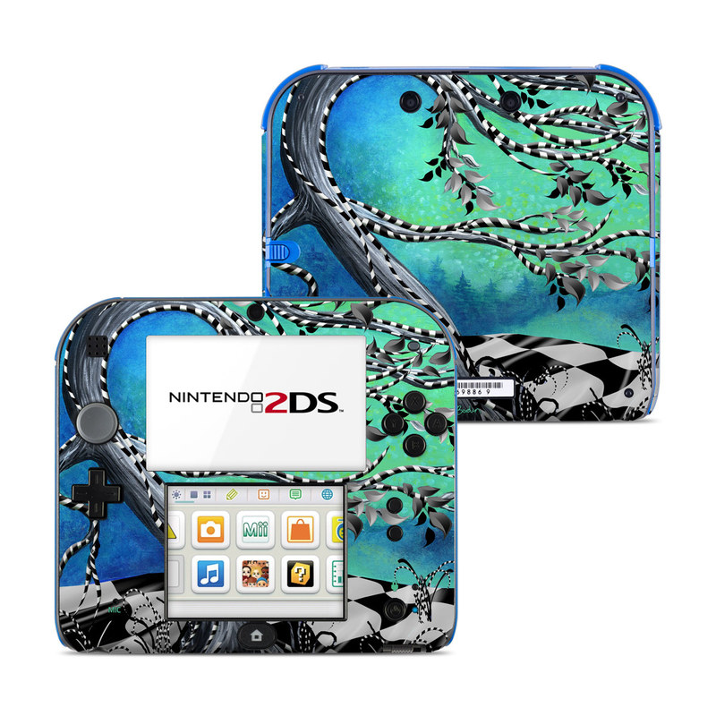 Haunted Tree Nintendo 2DS Skin