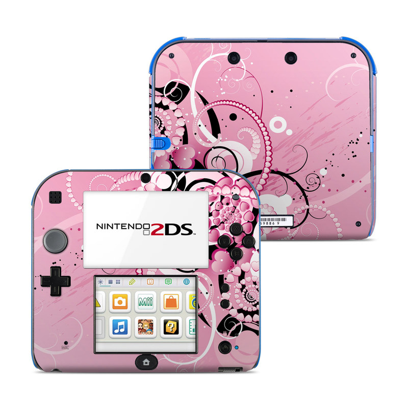 Her Abstraction Nintendo 2DS Skin