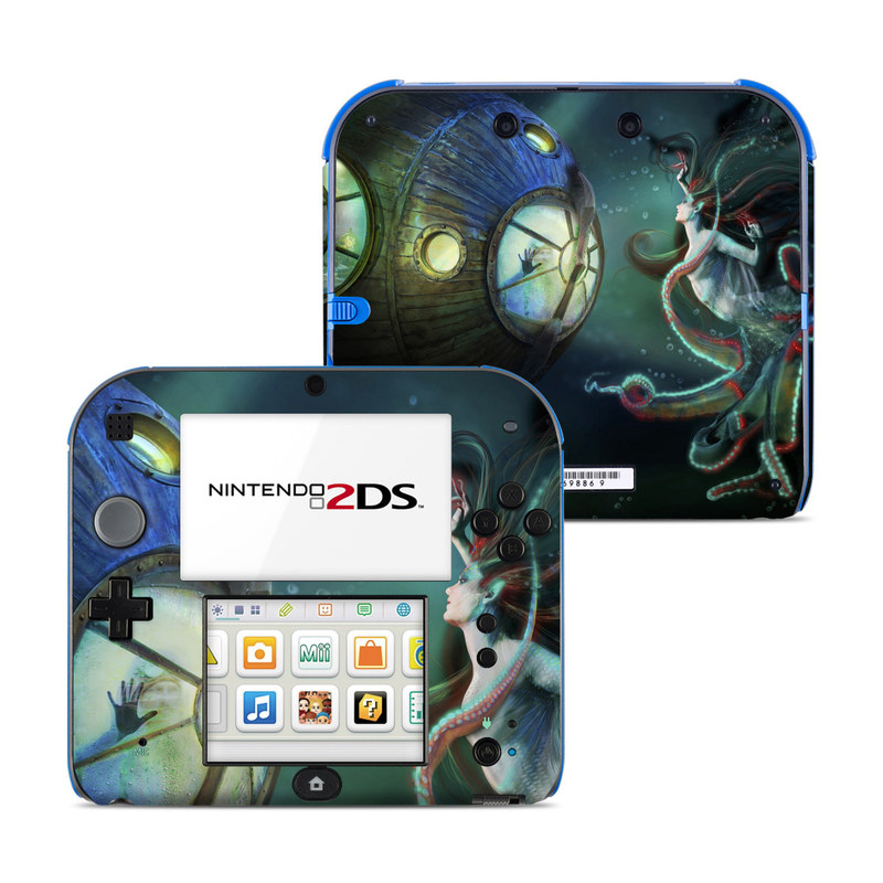 20000 Leagues Nintendo 2DS Skin