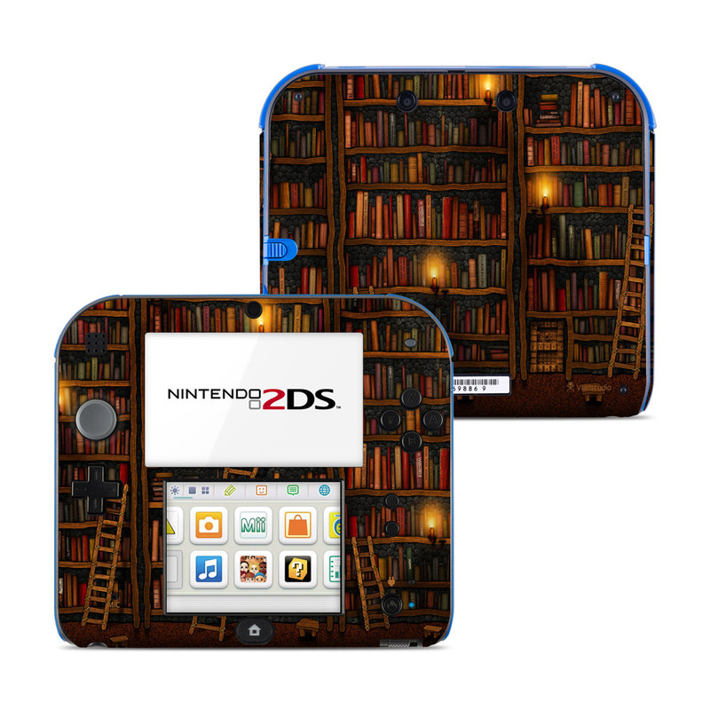 Library Nintendo 2DS Skin