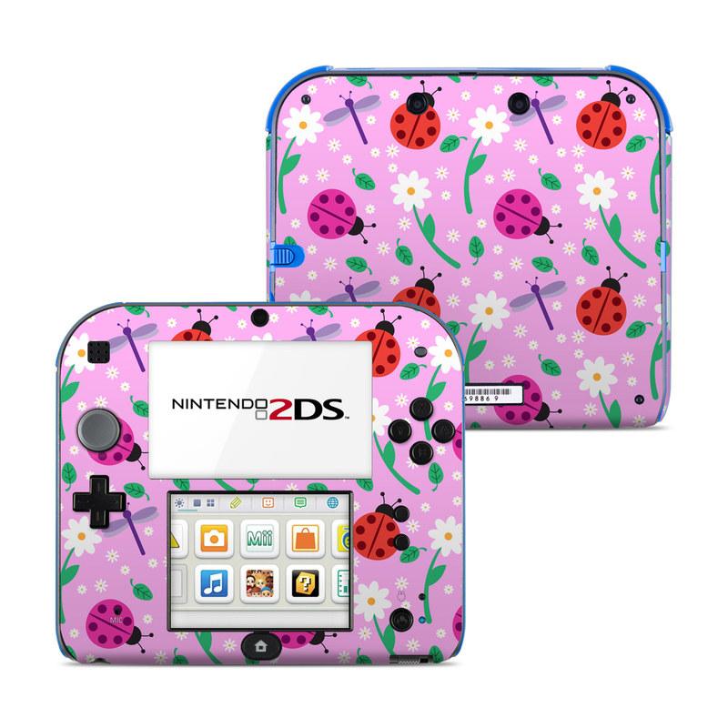 Ladybug Land Nintendo 2DS Skin