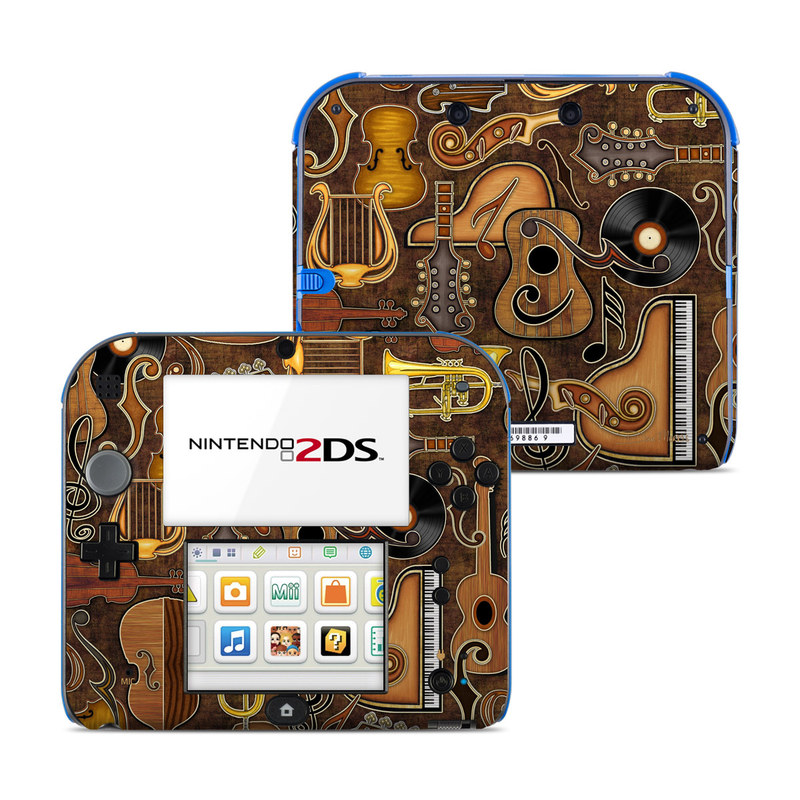 Music Elements Nintendo 2DS Skin