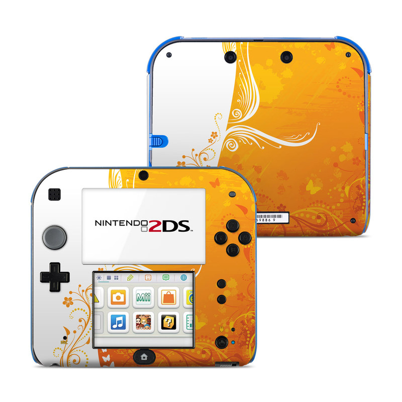 Orange Crush Nintendo 2DS Skin
