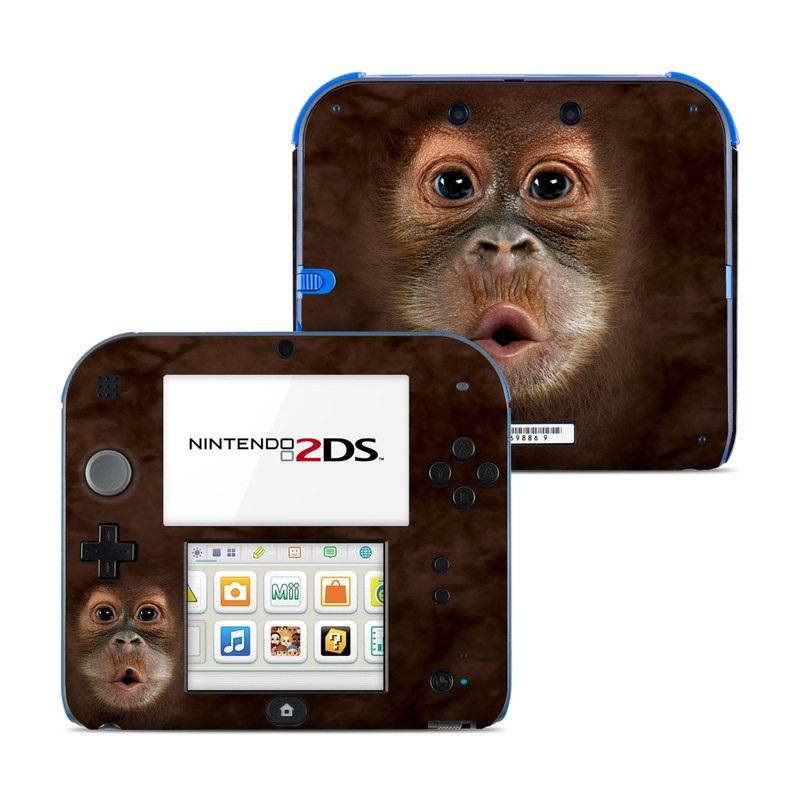 Orangutan Nintendo 2DS Skin