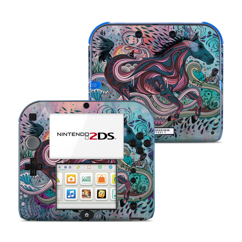 Poetry in Motion Nintendo 2DS Skin