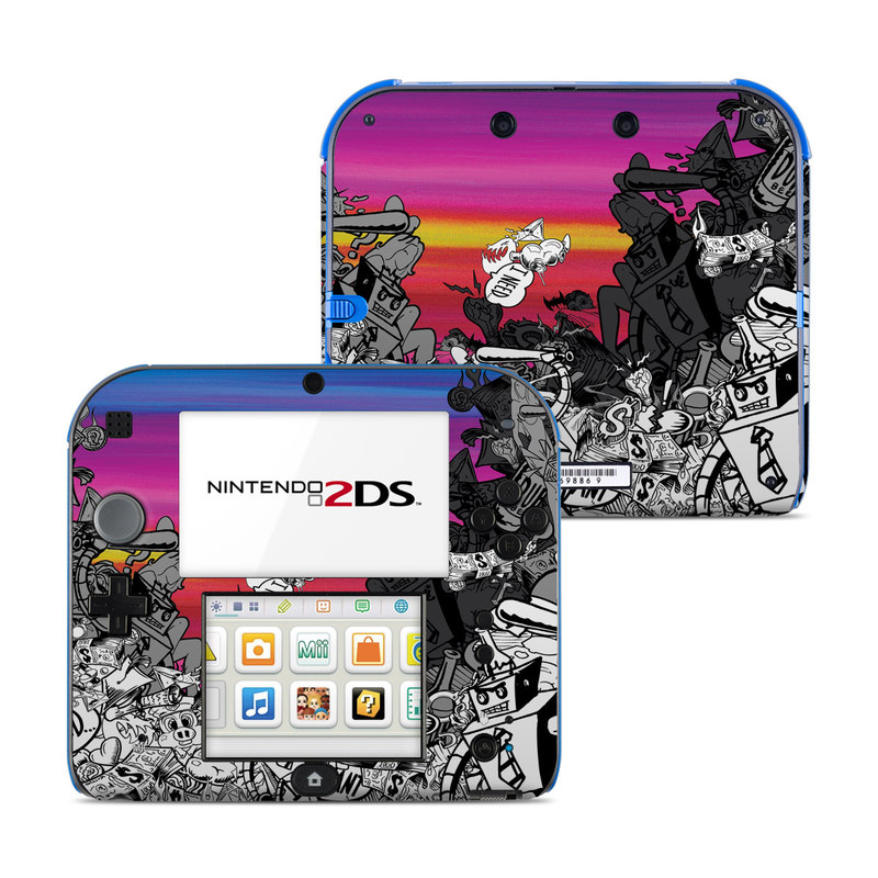 Robo Fight Nintendo 2DS Skin