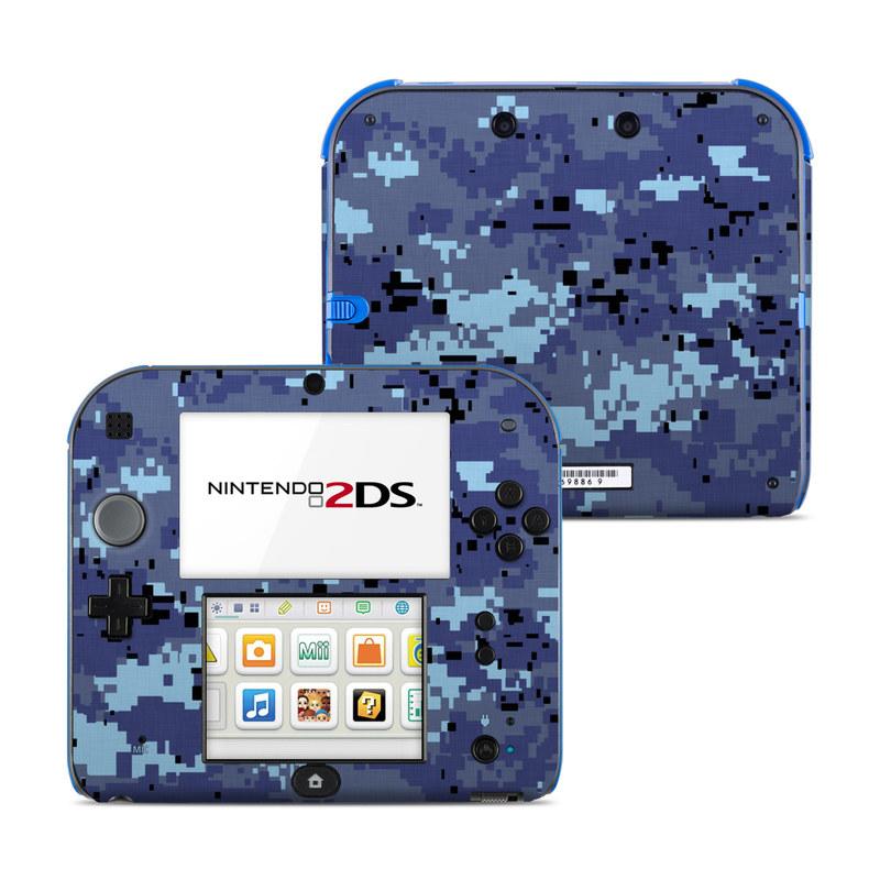 Sky Camo Nintendo 2DS Skin