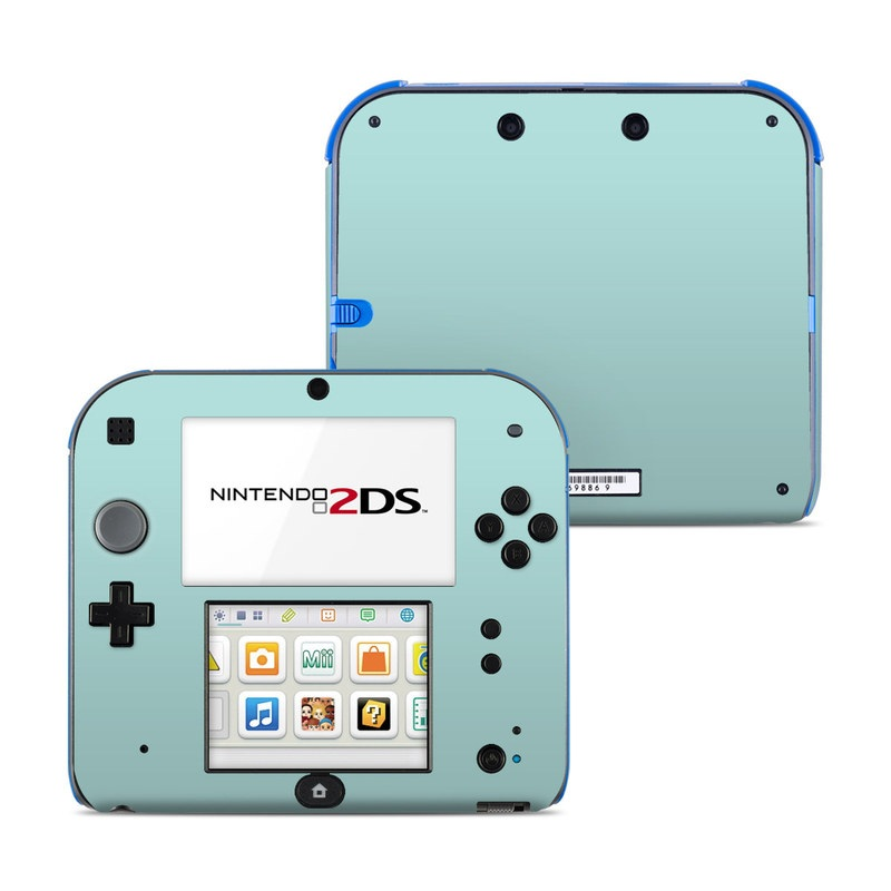 Solid State Mint Nintendo 2DS Skin