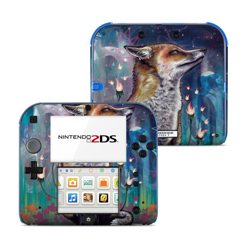 There is a Light Nintendo 2DS Skin
