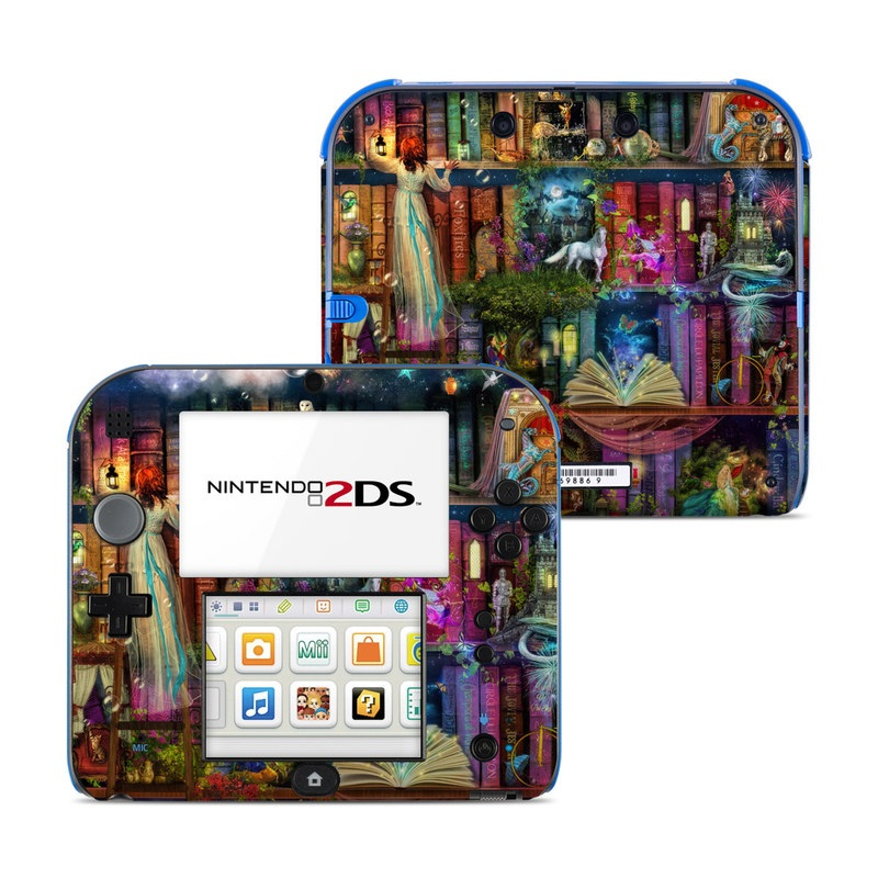 Treasure Hunt Nintendo 2DS Skin