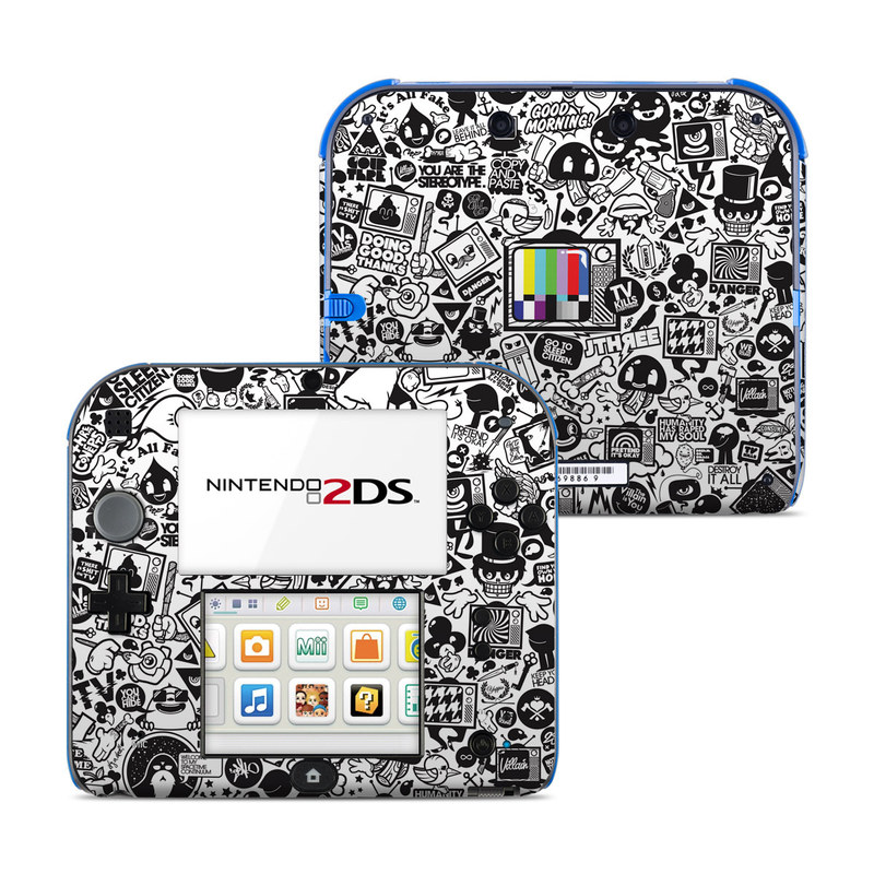 TV Kills Everything Nintendo 2DS Skin