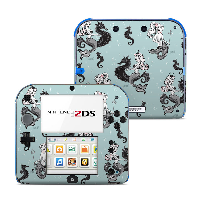 Vintage Mermaid Nintendo 2DS Skin