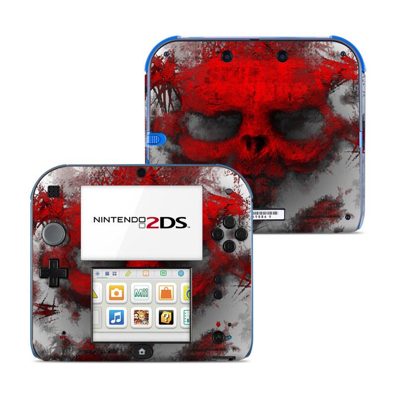 War Light Nintendo 2DS Skin