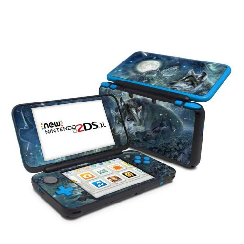 Bark At The Moon Nintendo 2DS XL Skin