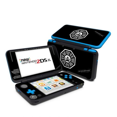 Dharma Black Nintendo 2DS XL Skin