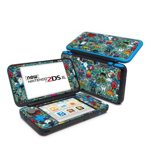 Jewel Thief Nintendo 2DS XL Skin