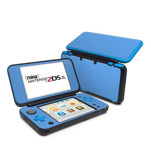 Solid State Blue Nintendo 2DS XL Skin