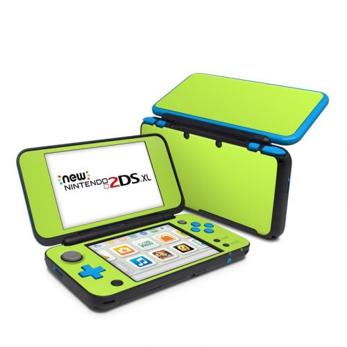 Solid State Lime Nintendo 2DS XL Skin