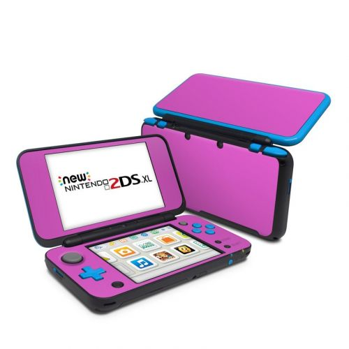 Solid State Vibrant Pink Nintendo 2DS XL Skin
