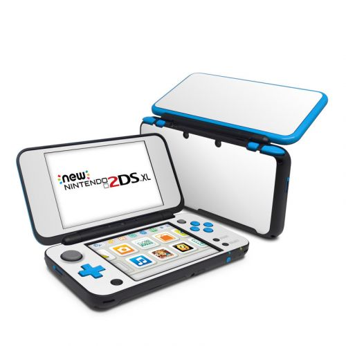 Solid State White Nintendo 2DS XL Skin