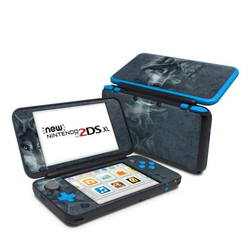 Wolf Reflection Nintendo 2DS XL Skin