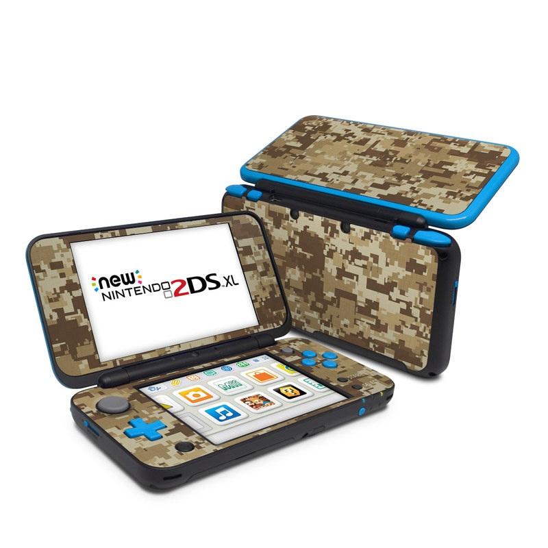 Coyote Camo Nintendo 2DS XL Skin