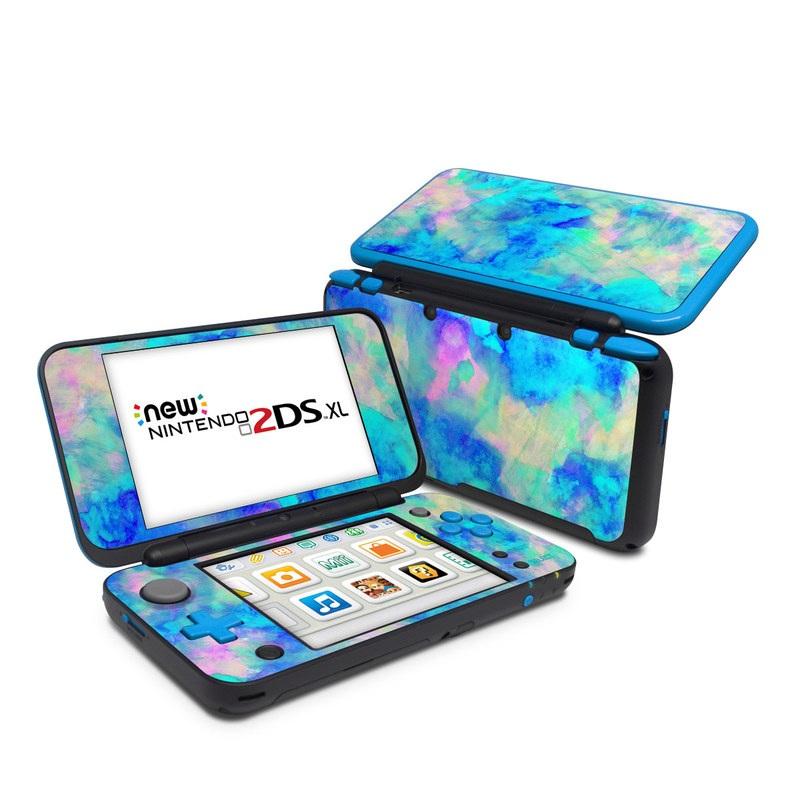Electrify Ice Blue Nintendo 2DS XL Skin
