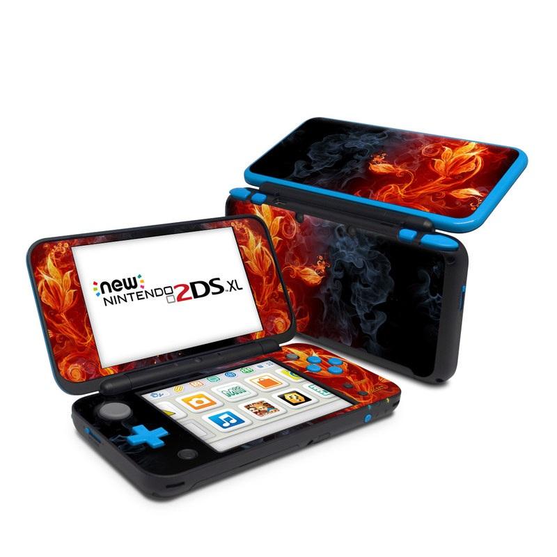 Flower Of Fire Nintendo 2DS XL Skin