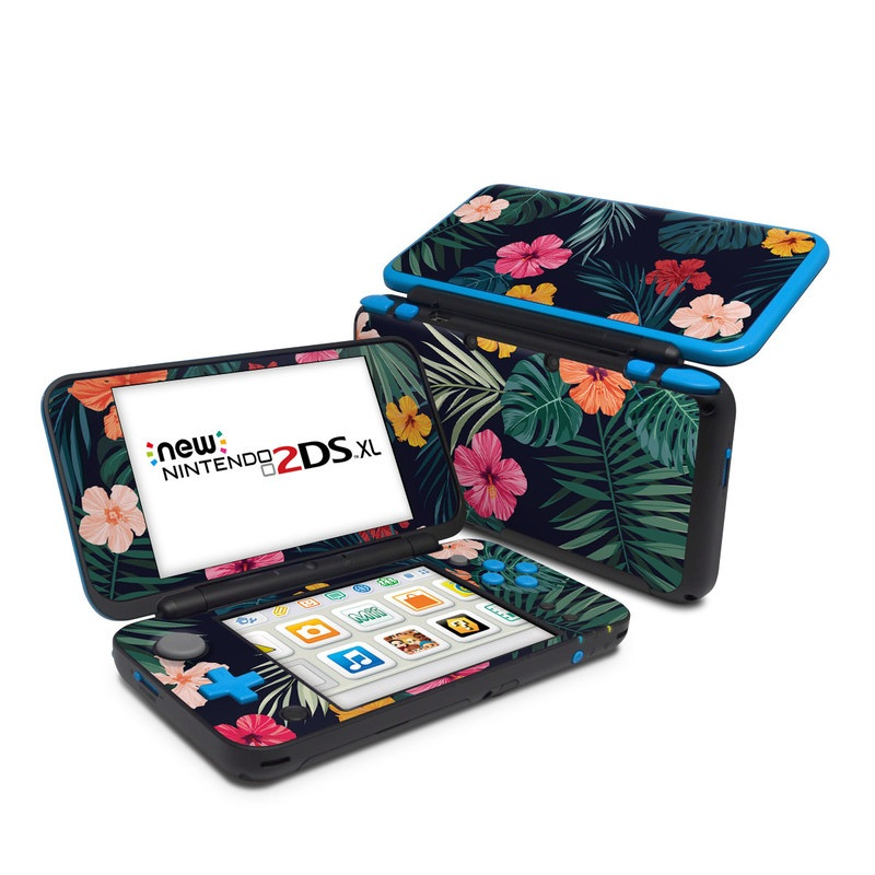 Tropical Hibiscus Nintendo 2DS XL Skin